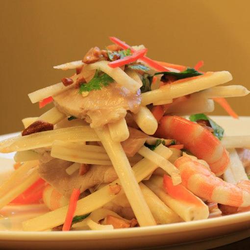 Vietnamese Salad Goi Ngo Sen Recipe