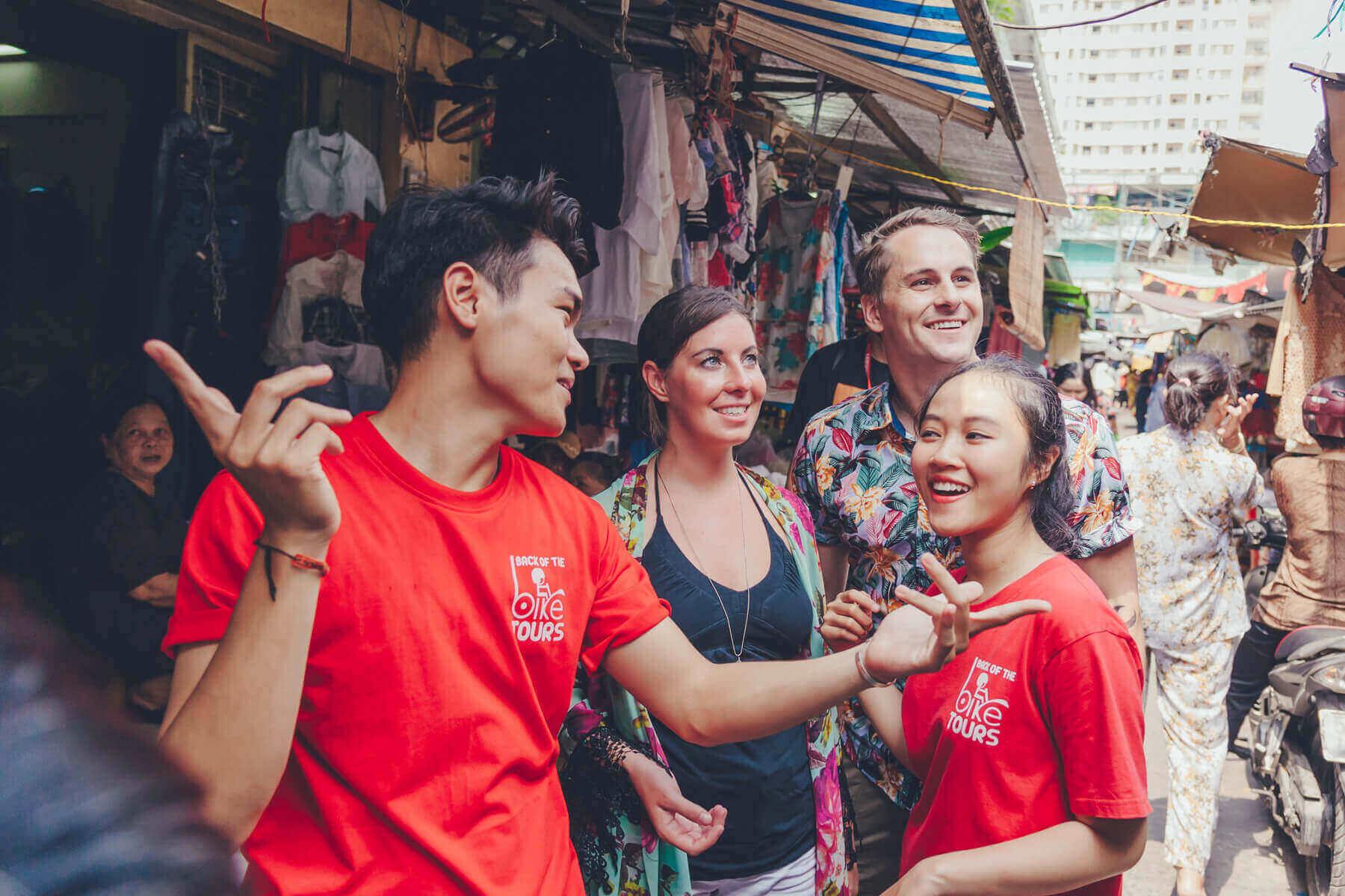 Sightseeing in Saigon
