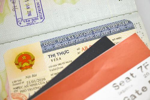 Do i need a Visa to Vietnam visa example