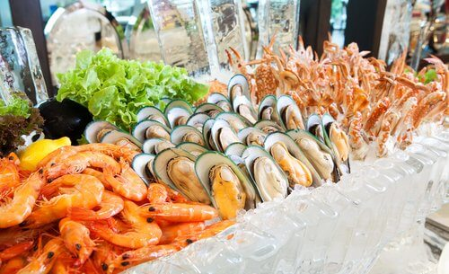 Seafood Buffet at Novotel in District 3 Ho Chi Minh City