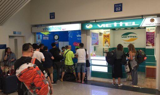 Viettel Kiosk in Ton Son Nhat Airport