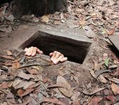 How to go to the cu chi tunnels on your own hidden