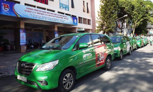 How to take a Mai Linh Taxi Car in Ho Chi Minh City