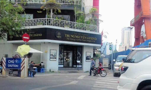 Trung Nguyen where to buy weasel coffee in Ho Chi Minh City