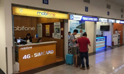 Mobiphone Kiosk to purchase sim card