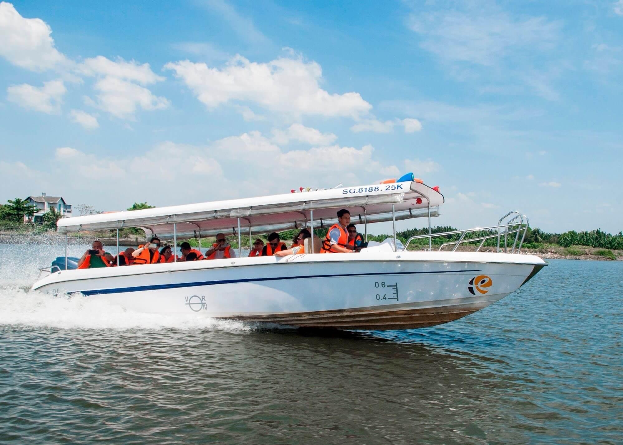 Cu Chi Tunnels Boat Tour on the Saigon River