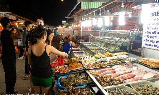 Night Market on Phu Quoc, Vietnam