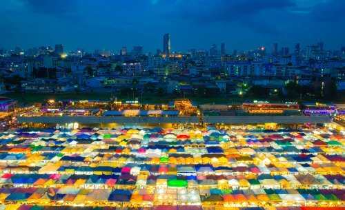 Where to go after ho chi minh night market in Thailand