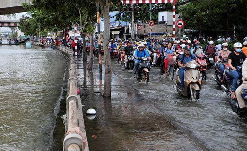 Ho Chi Minh City Street Flooding