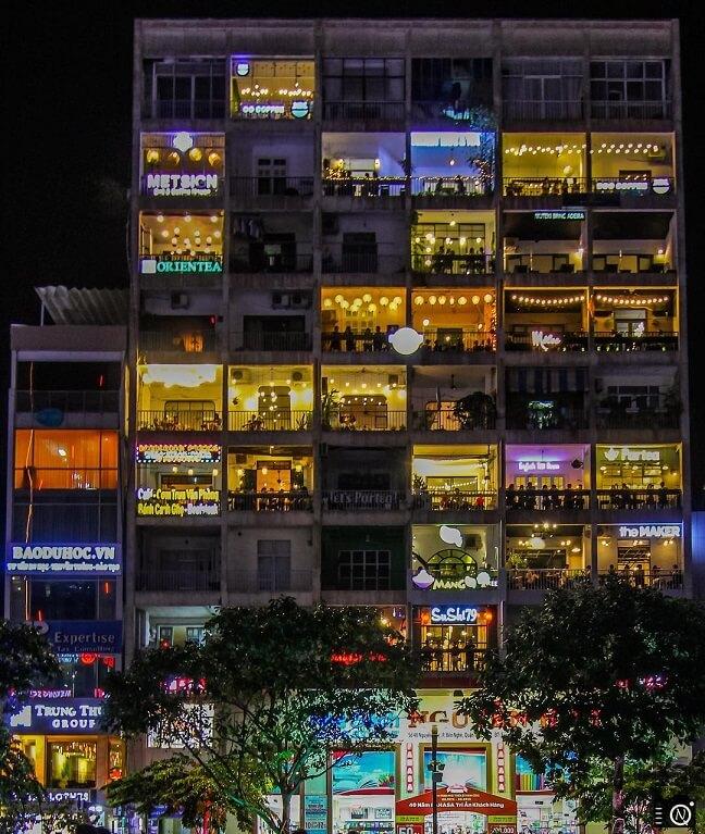 unique instagram coffee shop in Ho Chi Minh City