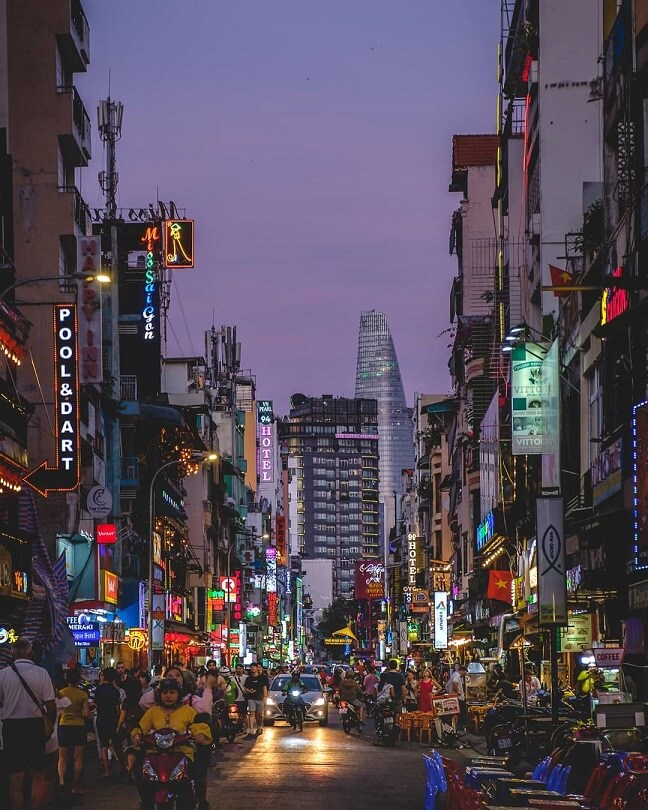 Instagram worty places in Ho chi minh city vietnam