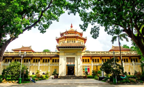 The second most famous museum in Ho Chi Minh City