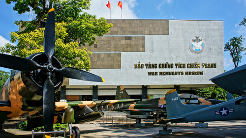 A big attraction in Ho Chi Minh City for history buffs