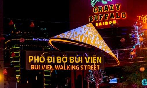 Bui Vien Walikng Street