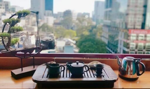 A place to taste oriental tea from China and Japan