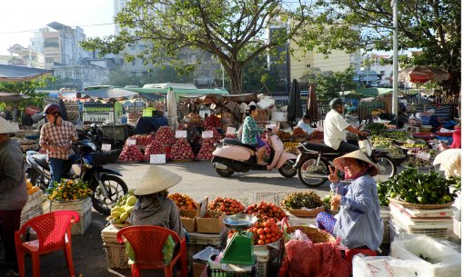 Traditional markets in Ho Chi Minh City