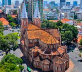 Ho Chi Minh City, which is in the South of Vietnam