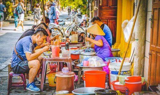 Eating safely in Vietnam