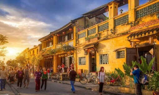 Hoi An ancient town - most attractive tourist spot in central region of Vietnam
