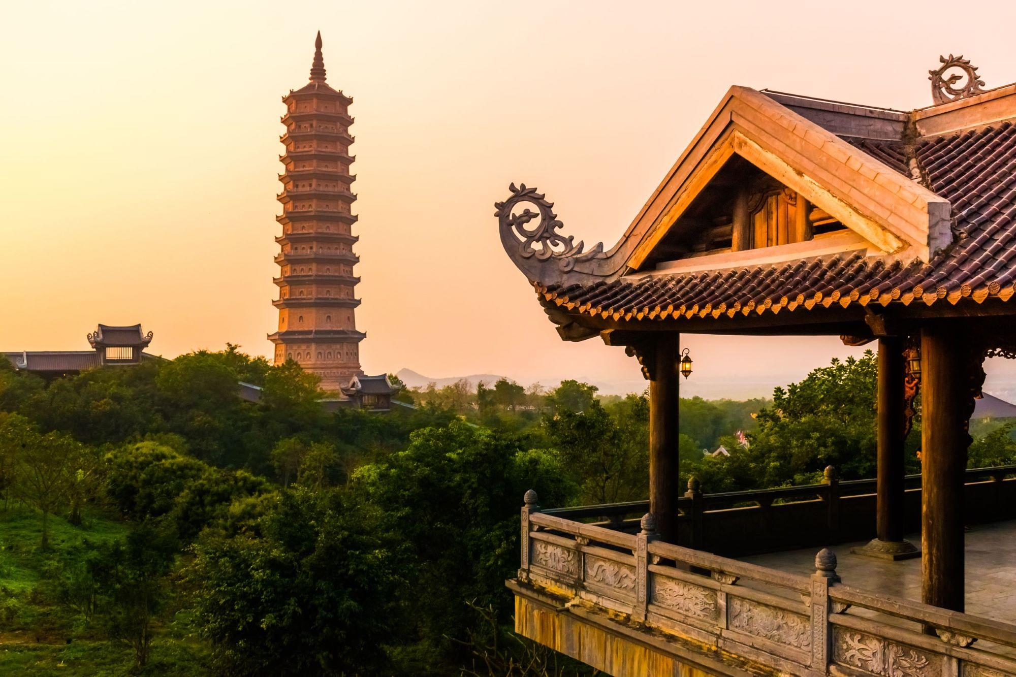 The biggiest temple complex in Vietnam