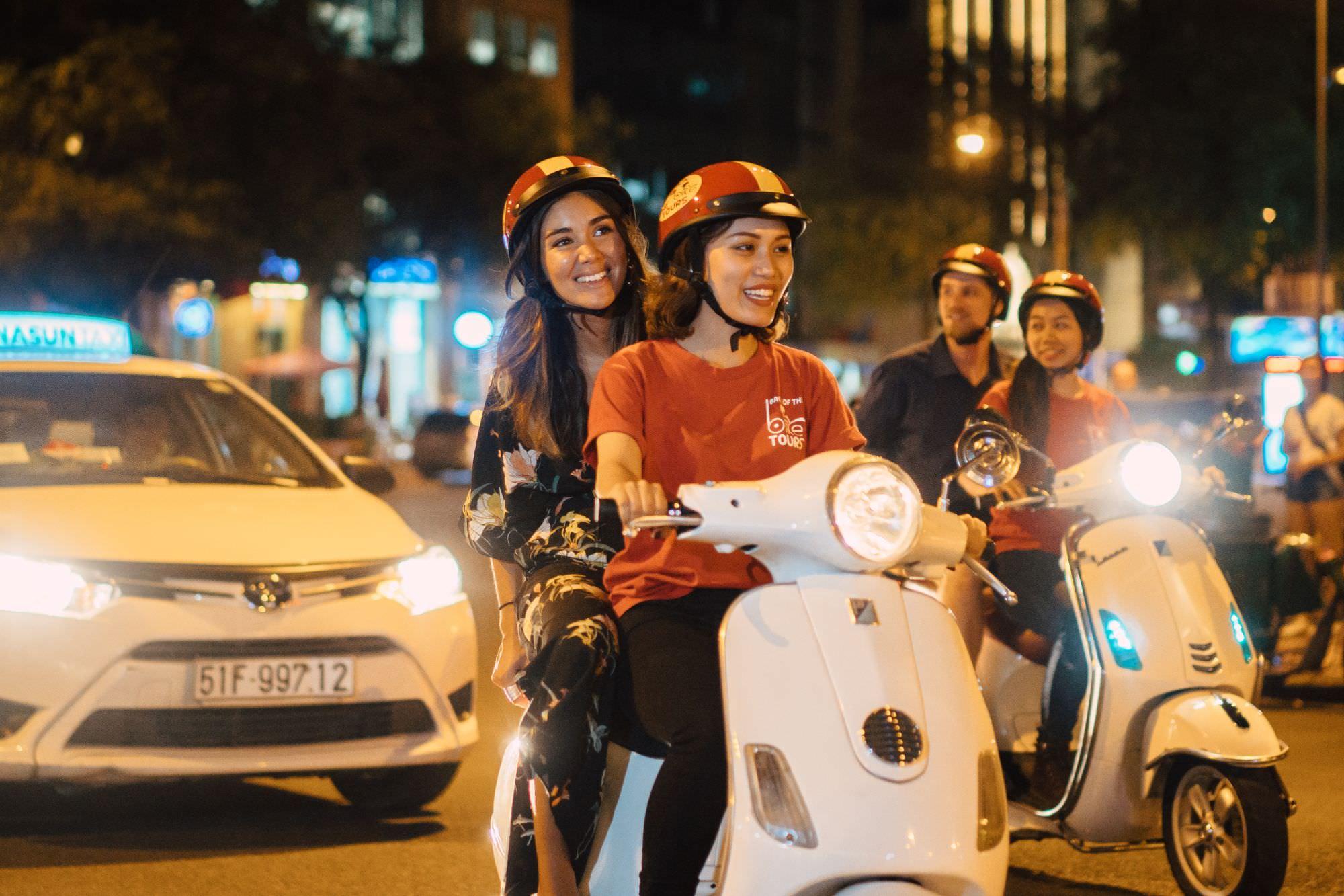 Motorbike Food Tour Ho Chi Minh City, Vietnam