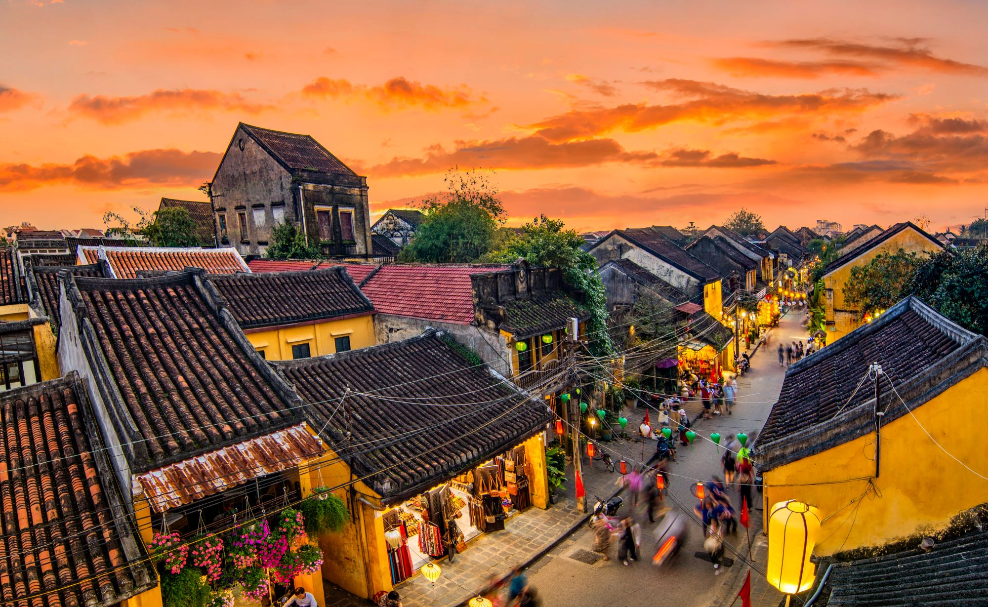 Hoi An, which is in central of Vietnam
