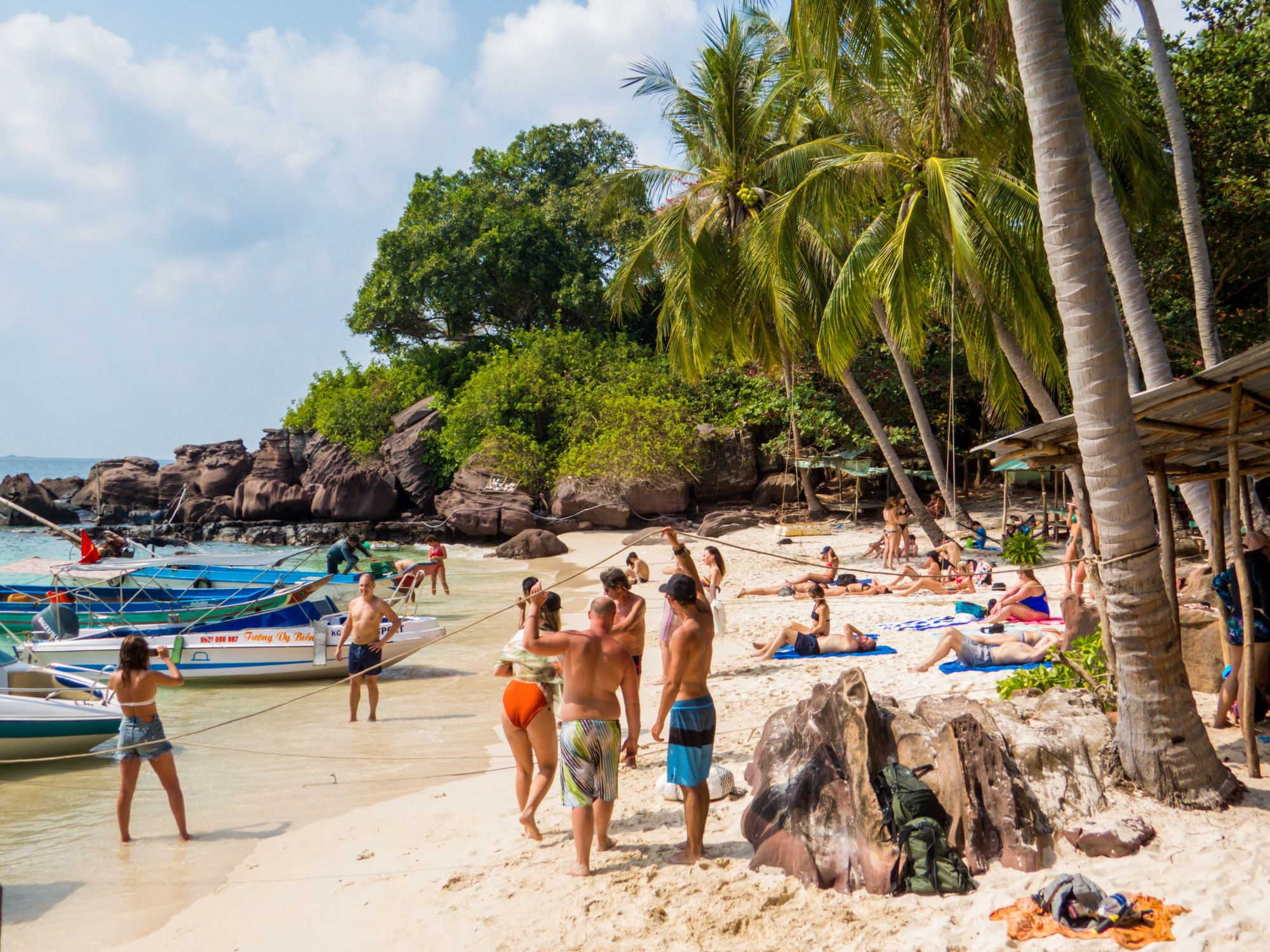 One of the most beautiful beaches in Vietnam