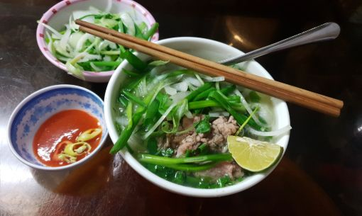 Hanoi Style Beef Pho in Ho Chi Minh City on our Tour