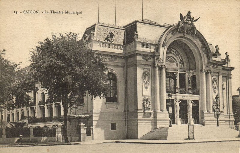 Saigon Opera House History