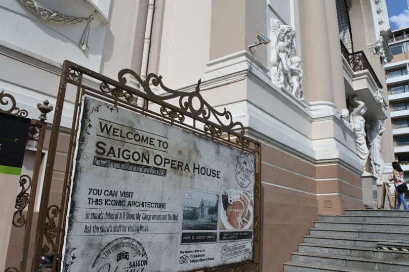 Punctuality Tips when visiting Saigon Opera House